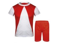 Αθλητική στολή ποδοσφαίρου. Σετ μπλούζα - σορτσάκι